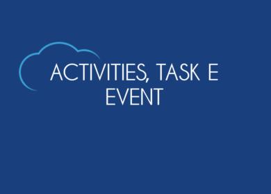 Activities, Task e Event in Salesforce